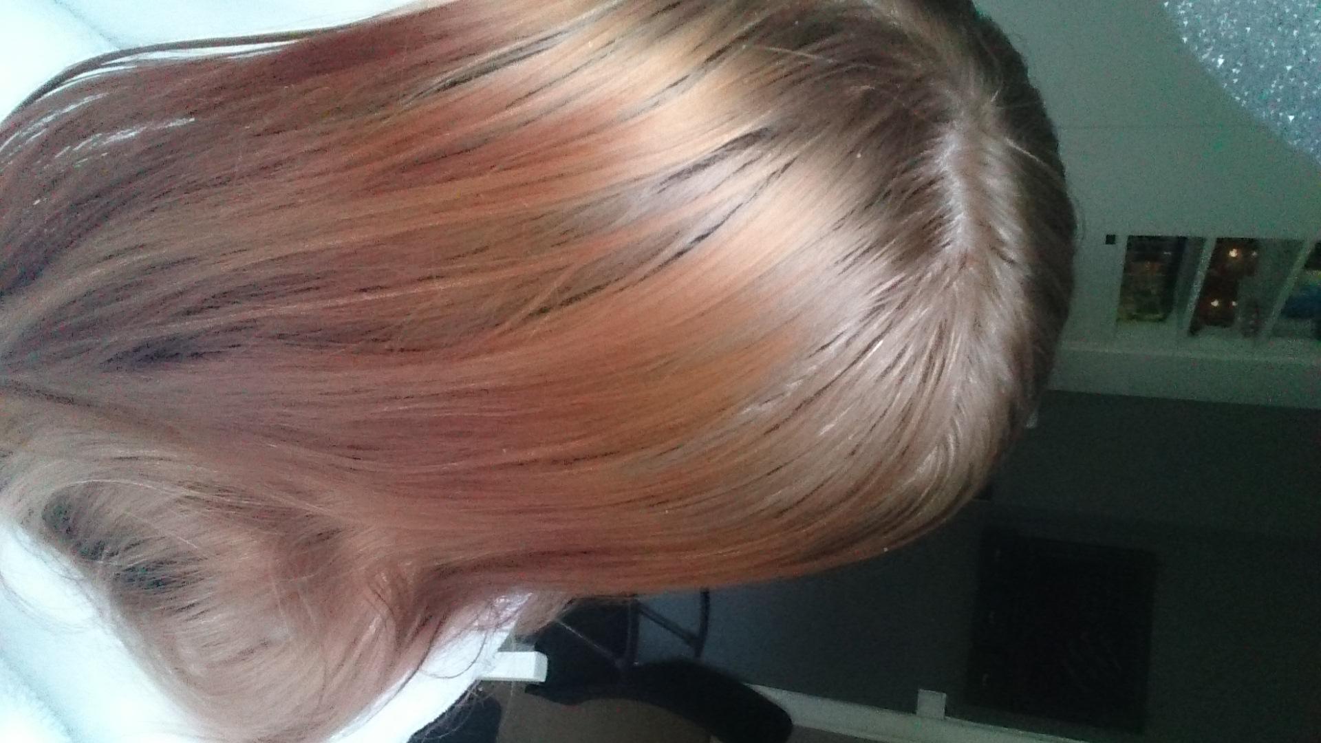 få tillbaka naturlig hårfärg